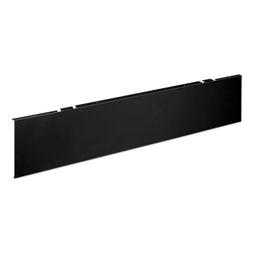 Universal Modesty Panel, 50w x 0.13d x 9.63h, Black