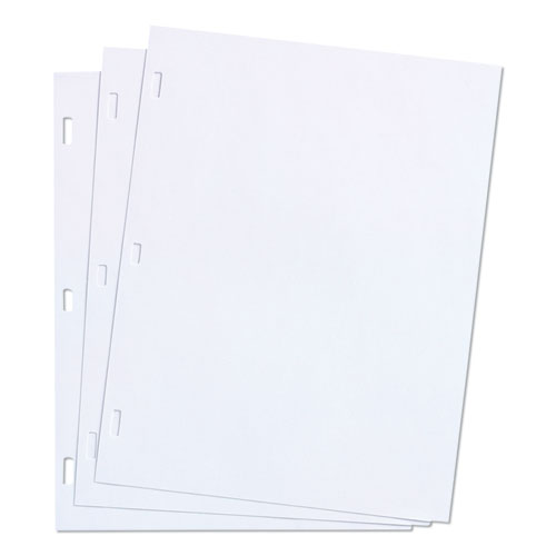 Wilson jones - ledger sheets for corporation and minute book, white, 11 x 8-1/2, 100 sheets, sold as 1 bx