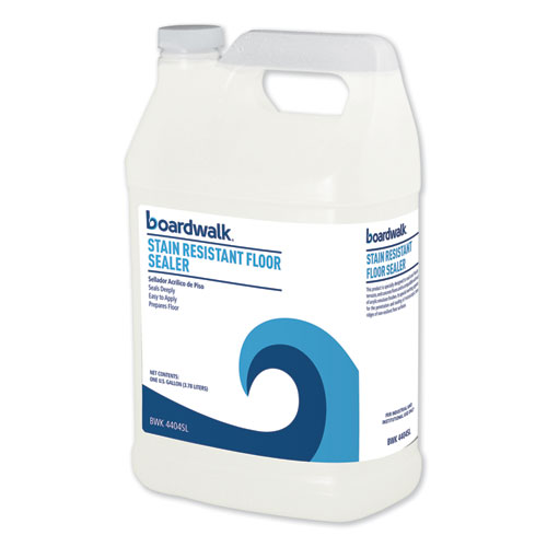 Stain Resistant Floor Sealer, 1 gal Bottle, 4/Carton
