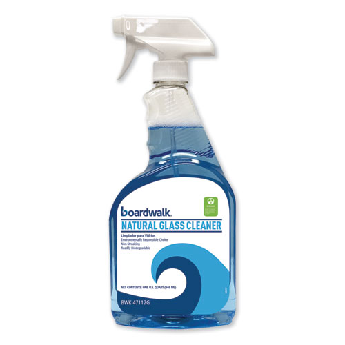 Natural Glass Cleaner, 32 oz Trigger Bottle