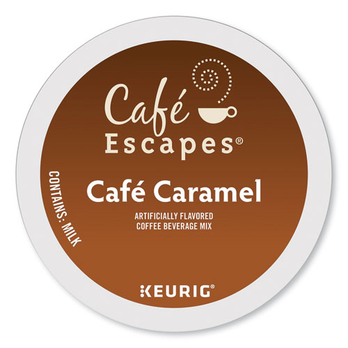 Caf Caramel K-Cups, 24/Box