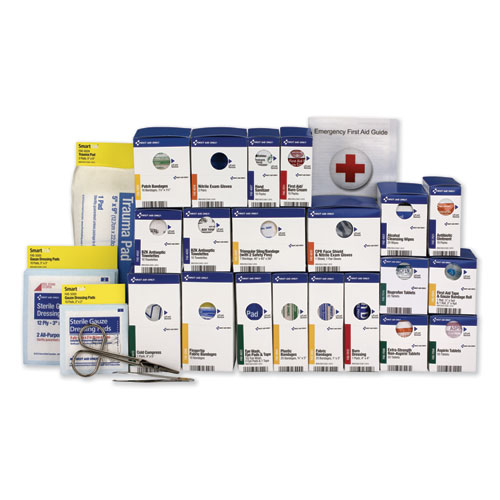 50 Person ANSI Class A First Aid Kit Refill, 241 Pieces