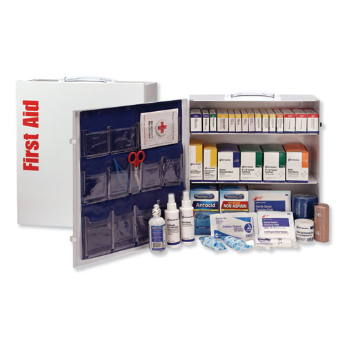 ANSI 2015 Class A Type III Industrial First Aid Kit 100 People, 676 Pieces