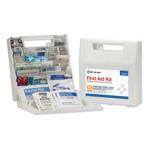 ANSI Class A First Aid Kit for 50 People, 183 Pieces