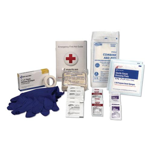 OSHA First Aid Refill Kit, 48 Pieces/Kit