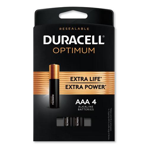 Duracell® Optimum Alkaline AA Batteries, 12/Pack