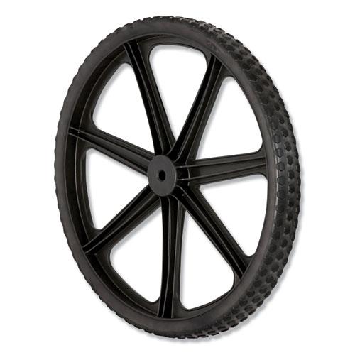 "Wheel for 5642, 5642-61 Big Wheel Cart, 20"" diameter, Black"
