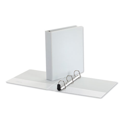 Deluxe Easy-to-Open D-Ring View Binder, 3 Rings, 2