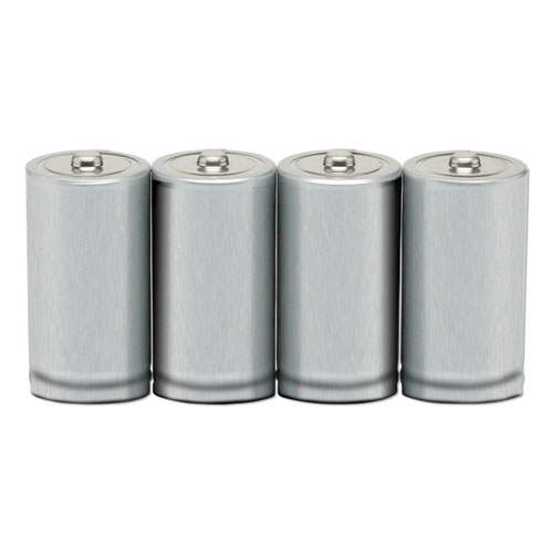 6135014468307, Alkaline C Batteries, 4/Pack