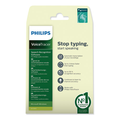 PC Transcription Kit, For Use with Philips DVT Recorders