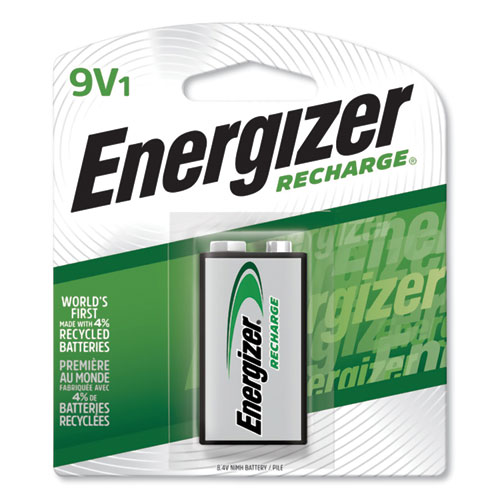 Energizer® NiMH Rechargeable 9V Batteries