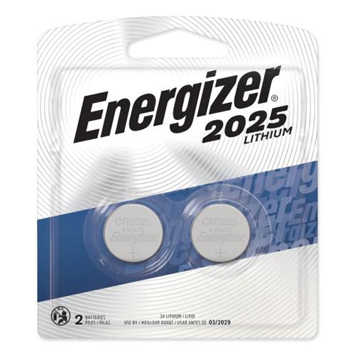 2025 Lithium Coin Battery, 3 V, 2/Pack