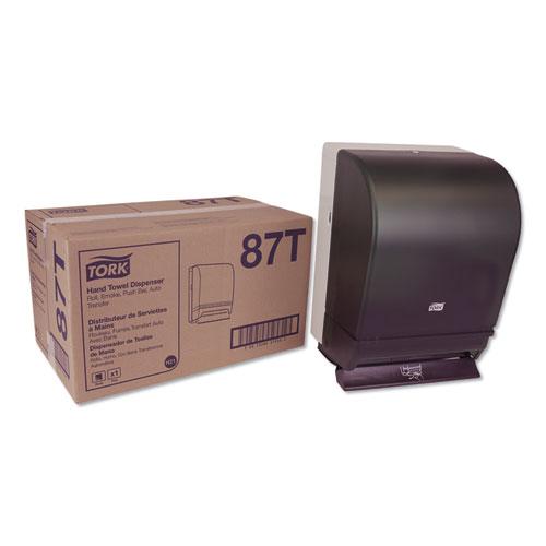 Tork® Hand Towel Roll Dispenser Push Bar, 10.5 x 8.75 x 15.75, Smoke/Gray