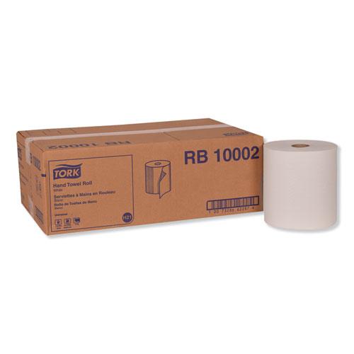 "Tork® Hardwound Roll Towel, 7.88"" x 1000 ft, White, 6 Rolls/Carton"