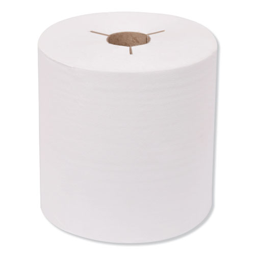 Tork® Advanced Hand Towel Roll, Notched, 1-Ply, 8 x 10, White, 1200/Roll, 6 Rolls/Carton