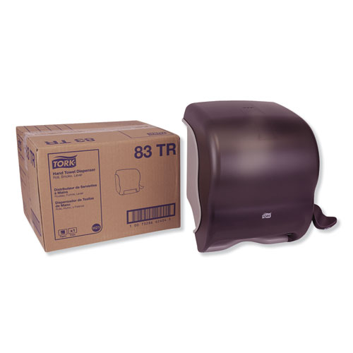 Tork® Compact Hand Towel Roll Dispenser, 12.49 x 8.6 x 12.82, Smoke