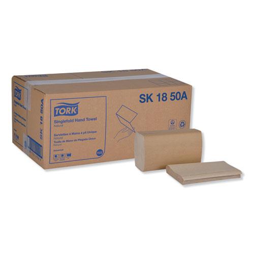 Universal Singlefold Hand Towel, 9.13 x 10.25, Natural, 250/Pack,16 Packs/Carton