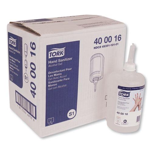Tork® Premium Alcohol Gel Hand Sanitizer, 1 L Bottle, Light Scent, 6/Carton