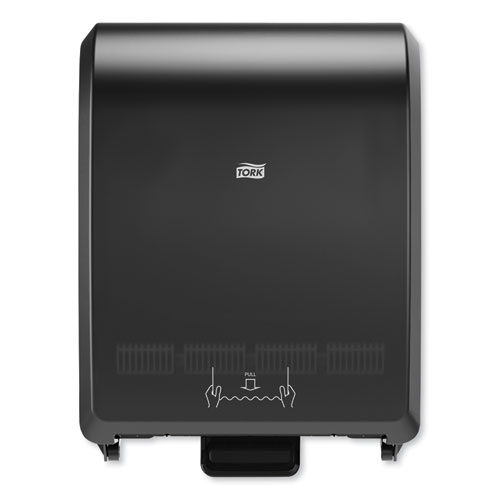 Tork® Mechanical Hand Towel Roll Dispenser, H71 System, 12.32 x 9.32 x 15.95, Black