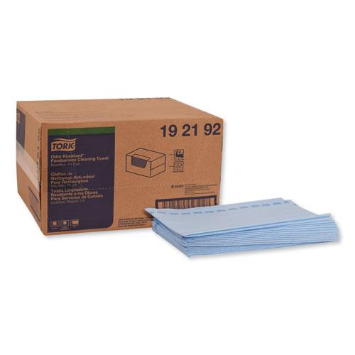 Tork® Foodservice Cloth, 13 x 24, Blue, 150/Box