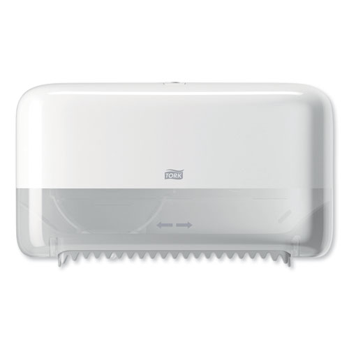 Tork® Elevation Coreless High Capacity Bath Tissue Dispenser,14.17 x 5.08 x 8.23,White