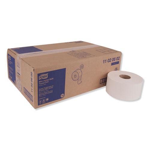 "Tork® Advanced Jumbo Bath Tissue, Septic Safe, 2-Ply, White, 3.48"" x 751 ft, 12 Rolls/Carton"