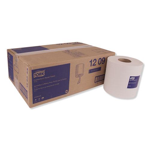 Tork® Centerfeed Hand Towel, 2-Ply, 7.6 x 11.8, White, 500/Roll, 6 Rolls/Carton
