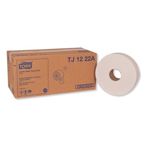 "Universal Jumbo Bath Tissue, Septic Safe, 2-Ply, White, 3.48"" x 2,000 ft, 6/Carton"