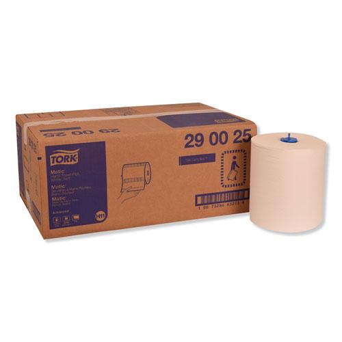 "Tork® Advanced Matic Hand Towel Rolll, 8.27"" x 900 ft, White, 6 Rolls/Carton"
