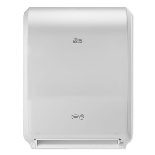 """Electronic Hand Towel Roll Dispenser, 8"""" Roll, 12.32 x 9.32 x 15.95, White"""