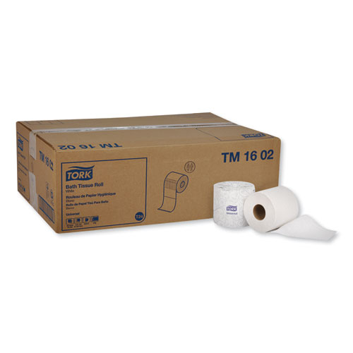 Universal Bath Tissue, Septic Safe, 2-Ply, White, 420 Sheets/Roll, 48 Rolls/Carton
