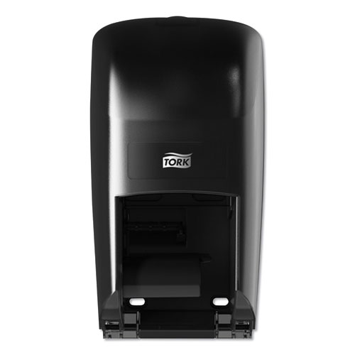 Twin Bath Tissue Roll Dispenser for OptiCore, 6.75 x 7 x 12.31, Black