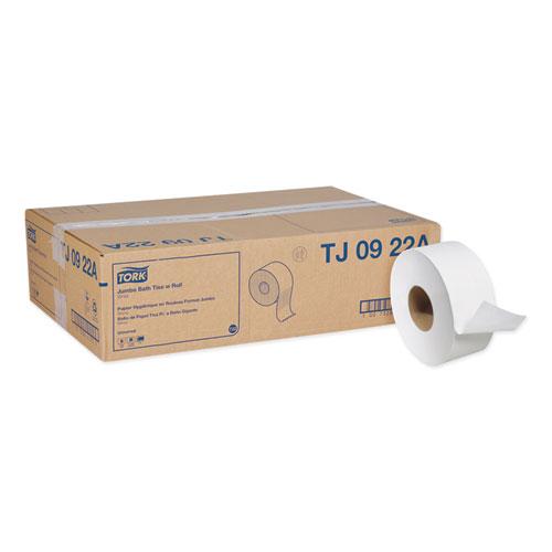 "Universal Jumbo Bath Tissue, Septic Safe, 2-Ply, White, 3.48"" x 1,000 ft, 12/Carton"