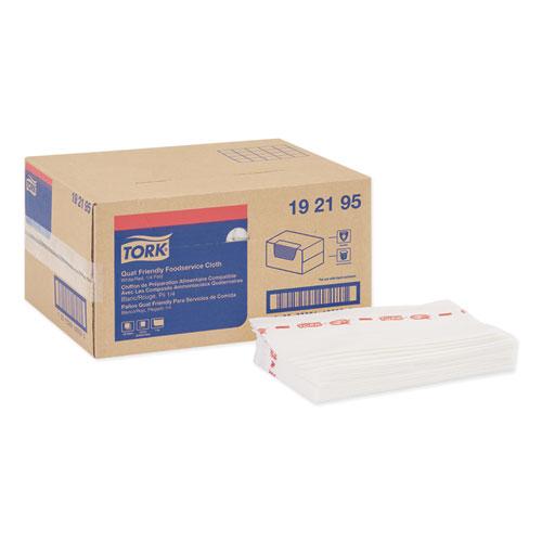 Tork® Foodservice Cloth, 13 x 21, White, 150/Box