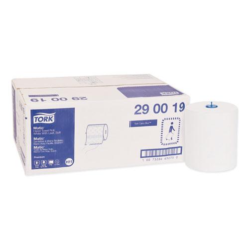 "Tork® Premium Soft Matic Hand Towel Roll, 8.27"" x 575 ft, White, 6 Rolls/Carton"