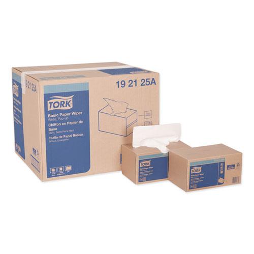 Tork® Multipurpose Paper Wiper, 9 x 10.25, White, 110/Box, 18 Boxes/Carton