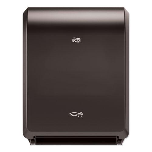 "Electronic Hand Towel Roll Dispenser, 7.5"" Roll, 12.32 x 9.32 x 15.95, Black"