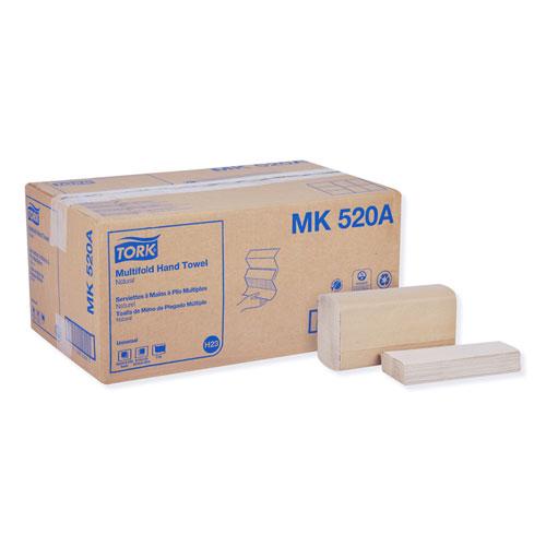Tork® Multifold Hand Towel, 9.13 x 9.5, Natural, 250/Pack, 16 Packs/Carton