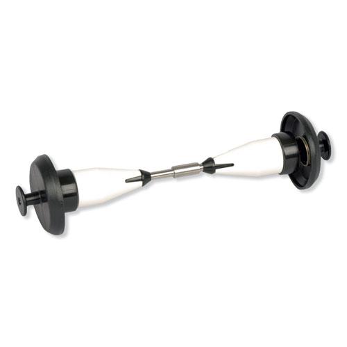 "Tork® Coreless High Capacity Spindle Kit, Plastic, 3.66"" Roll Size, White"