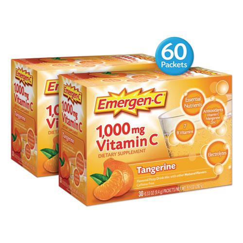 Immune Defense Drink Mix, Tangerine, 0.32 oz Packet, 60/Pack