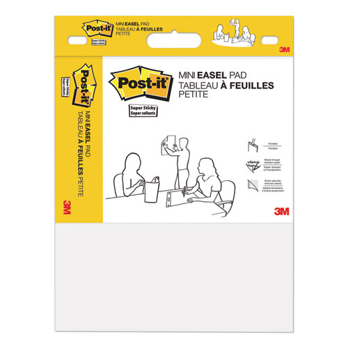 Self Stick Easel Pads, 15 x 18, White, 20 Sheets/Pad, 2 Pads/Pack