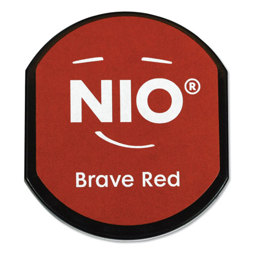 Ink Pad for NIO Stamp with Voucher, Brave Red