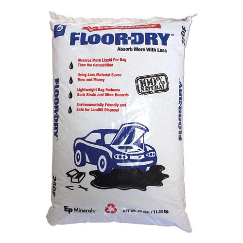 DE Premium Oil Absorbent, Diatomaceous Earth, 25lb Poly Bag