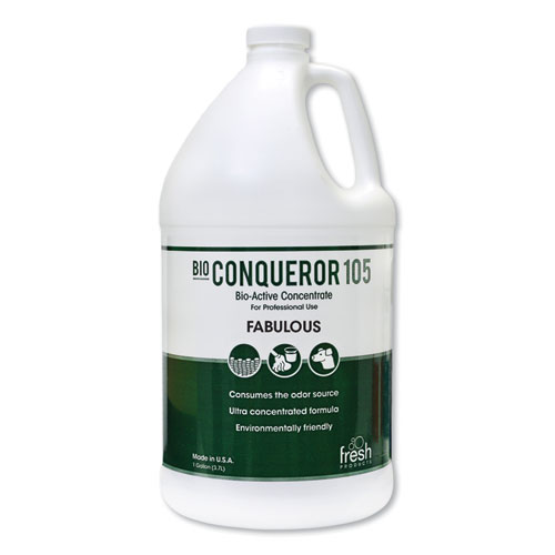 Bio Conqueror 105 Enzymatic Odor Counteractant Concentrate, Lavendar, 1 gal, 4/Carton