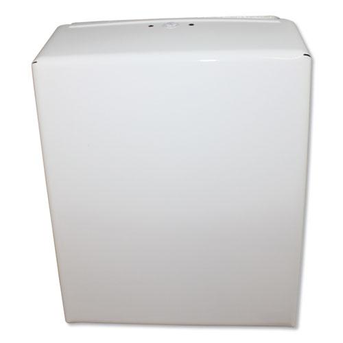 Impact® Metal Combo Towel Dispenser, 11 x 4.5 x 15.75, Off White