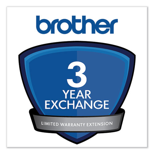 3-Year Exchange Warranty Extension for Select DCP/FAX/HL/QL/MFC Series