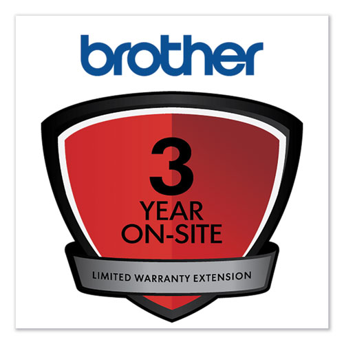 Onsite 3-Year Warranty Extension for  Select HL/MFC/PPF Series