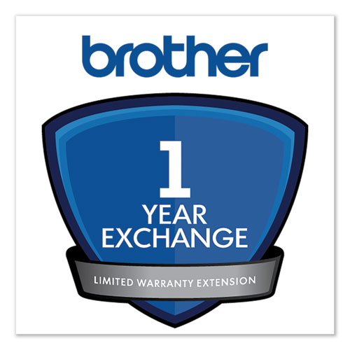 1-Year Exchange Warranty Extension for Select DCP/FAX/HL Series