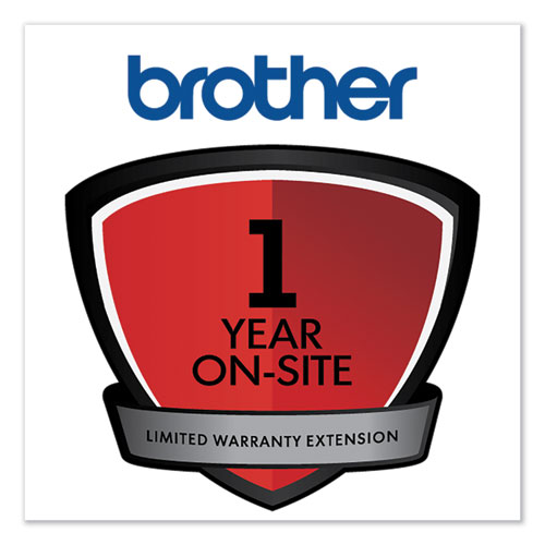 Onsite 1-Year Warranty Extension for Select DCP/FAX/HL/MFC Series