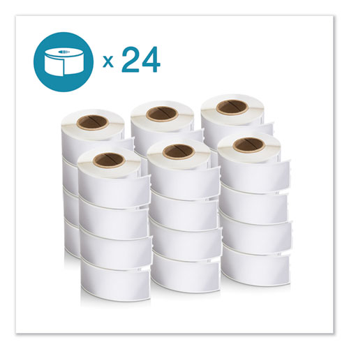 LW Address Labels, 1.13 x 3.5, White, 350/Roll, 24 Rolls/Pack